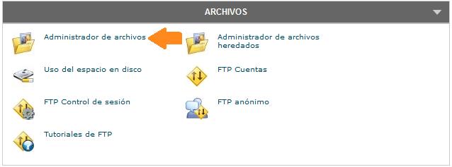 subir archivos a mi web