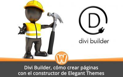 Divi Builder, cómo crear páginas con el constructor de Elegant Themes