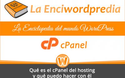 Qué es el cPanel del hosting y qué puedo hacer con él