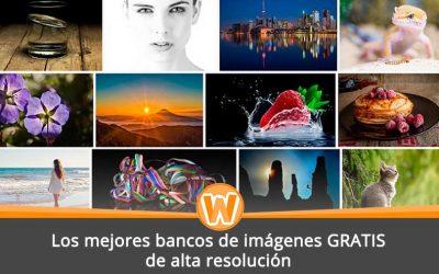 Los mejores bancos de imágenes GRATIS de alta resolución