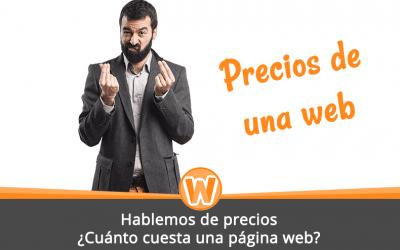 Hablemos de precios: ¿Cuánto cuesta una página web?