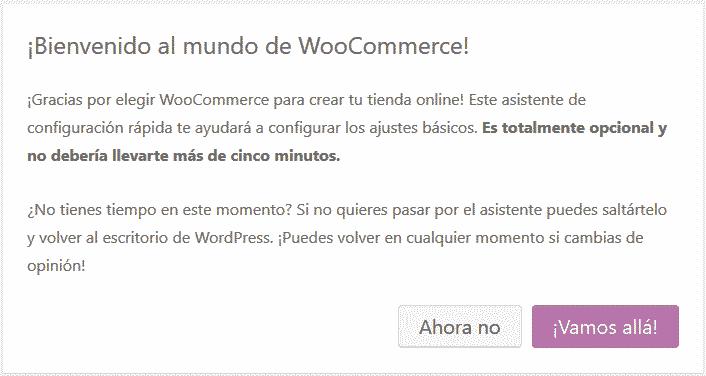 configurar woocommerce 1