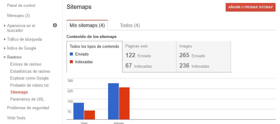 como indexar mi web en google
