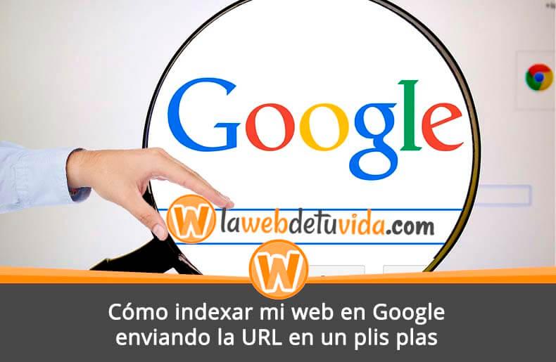 d62f4cba3 Cómo indexar mi web en Google enviando la URL en un PLIS PLAS