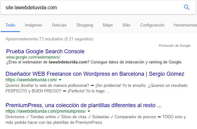 indexar web en buscadores