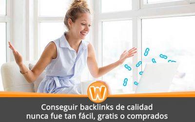 Conseguir backlinks de calidad nunca fue tan fácil, gratis o comprados