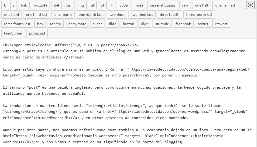 wysiwyg html