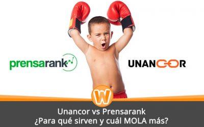Unancor vs Prensarank – ¿Para qué sirven y cuál MOLA más?