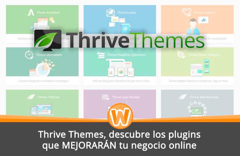 Thrive Themes, descubre los plugins que MEJORARÁN tu negocio online