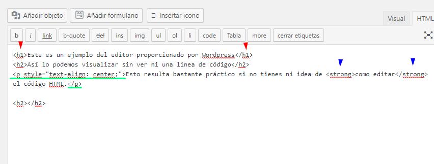 Etiquetas basicas HTML