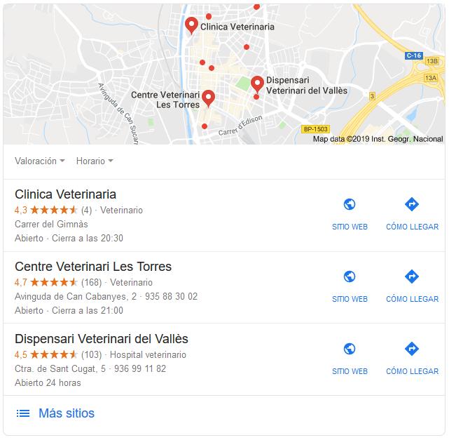 posicionamiento local
