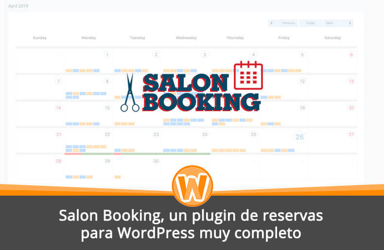 Salon Booking, un plugin de reservas para WordPress muy completo