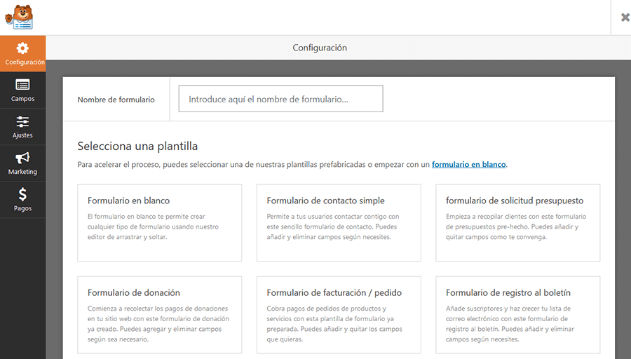 wpforms wordpress