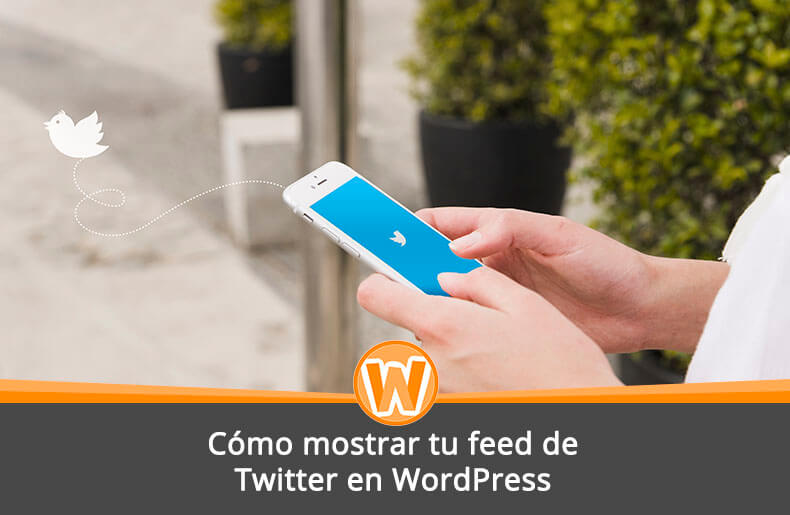 Cómo mostrar tu feed de Twitter en WordPress