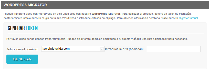 migrar wordpress de local a servidor