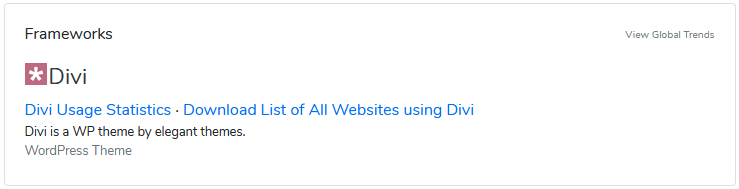 que theme usa una web