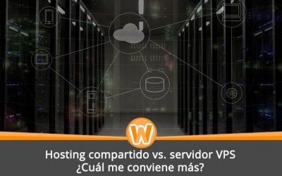 Hosting compartido vs. servidor VPS: ¿Cuál me conviene más?