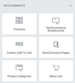 elementor woocommerce theme