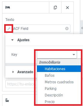 custom fields elementor