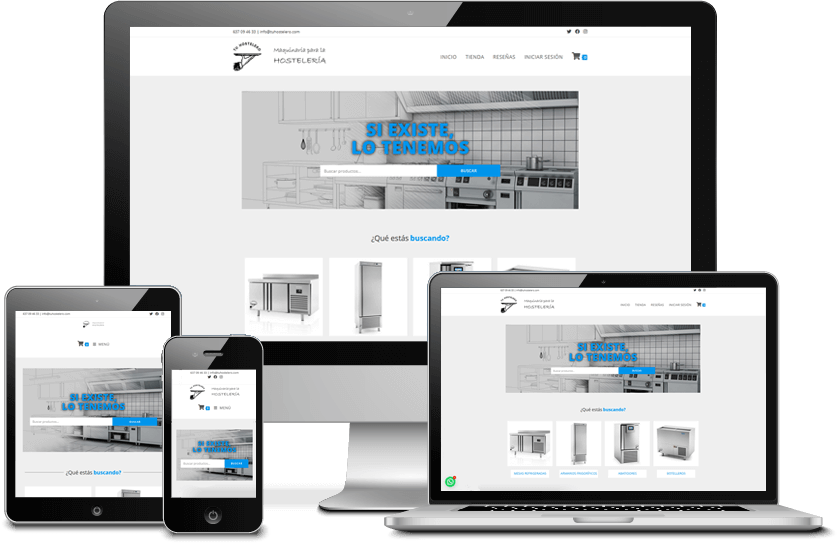 diseño tienda online barcelona